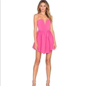 NBD HOT Pink Mini Dress